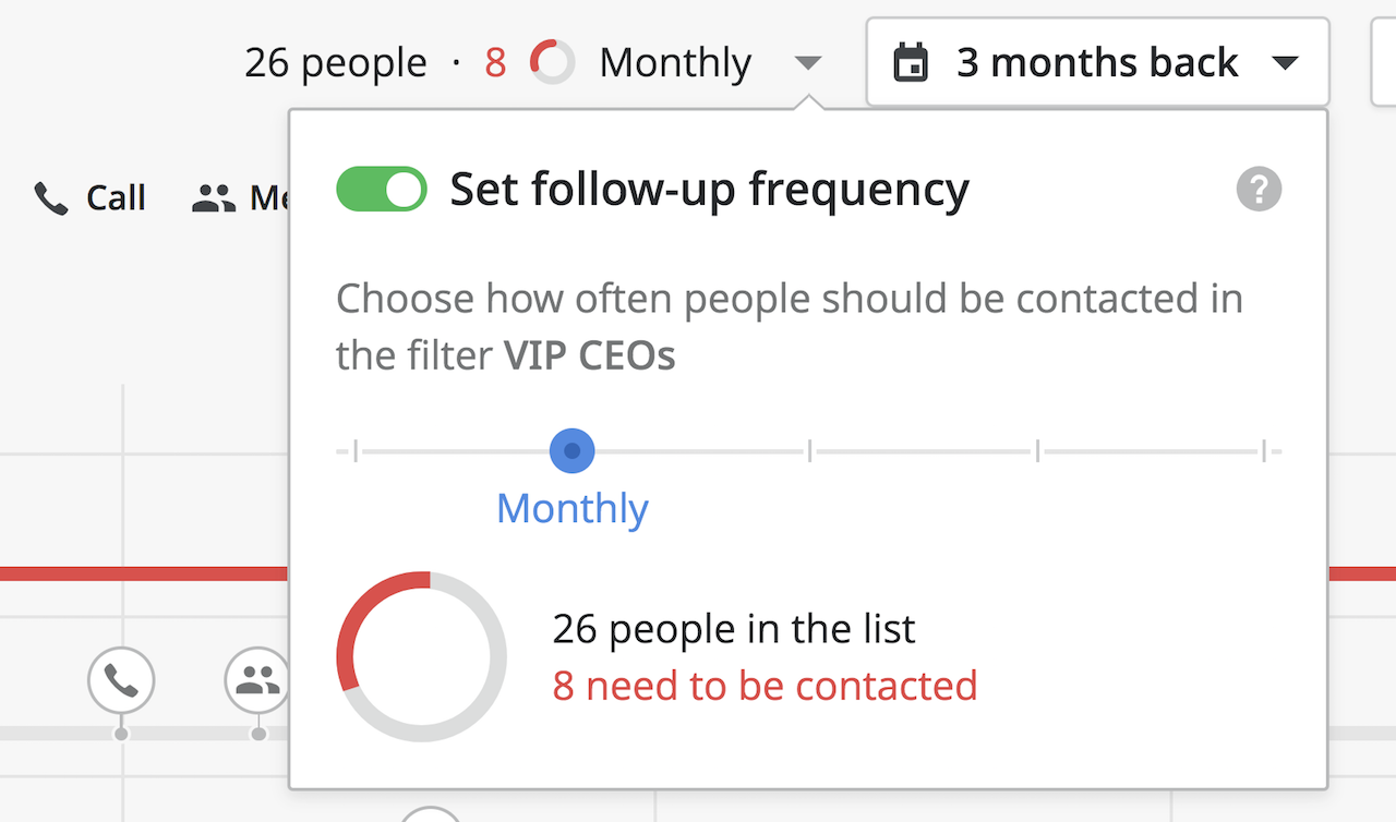Pipedrive contacts management