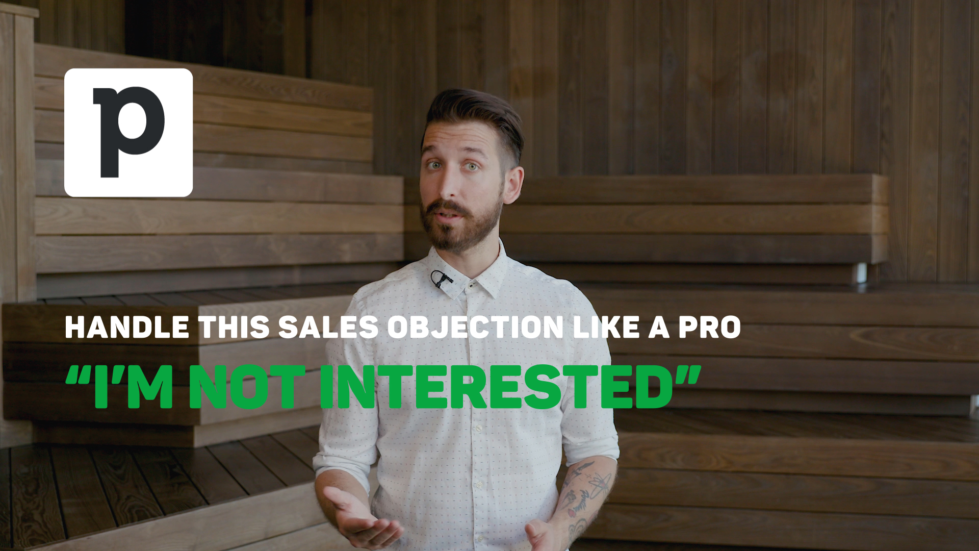 "Overcoming Objections in Sales: ""I'm not interested"""