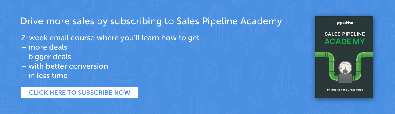 Pipedrive Sales Pipeline Academy