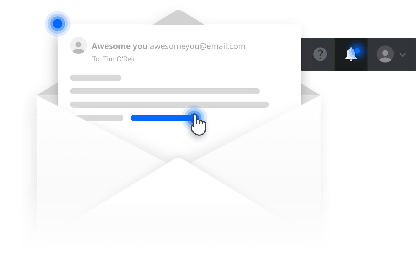 Pipedrive's Gold plan email tracking tool